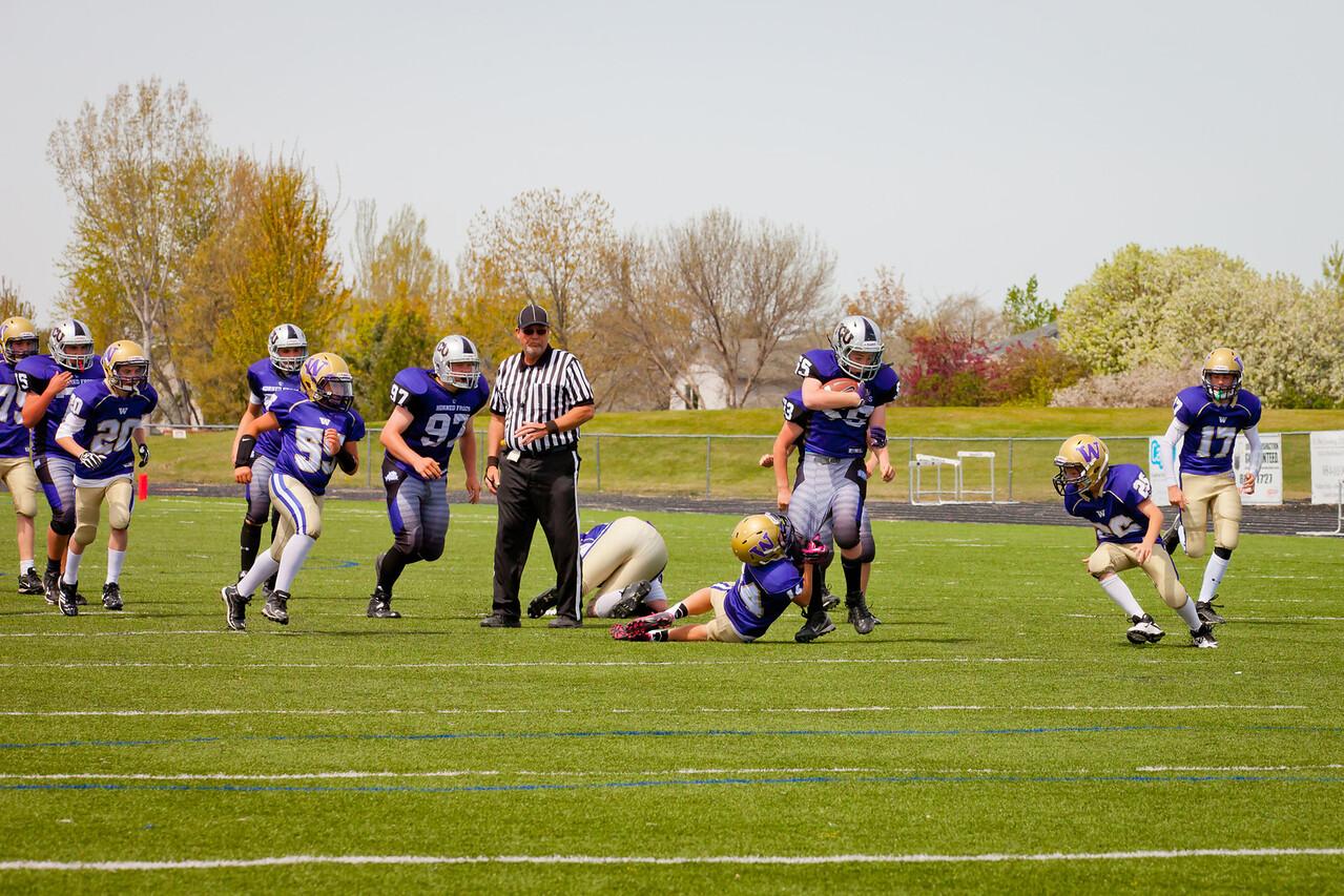 TCU JV vs Huskies JV    032
