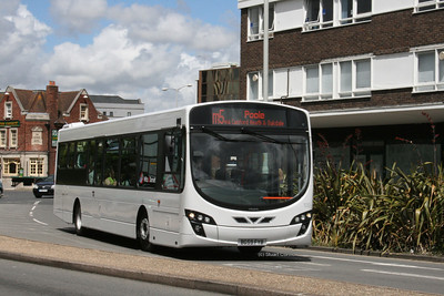 100, BG59FYB, On Loan to Wilts & Dorset, Poole