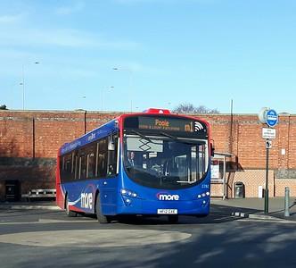 2282, HF12GXE, Go-South Coast, Bournemouth Railway Station