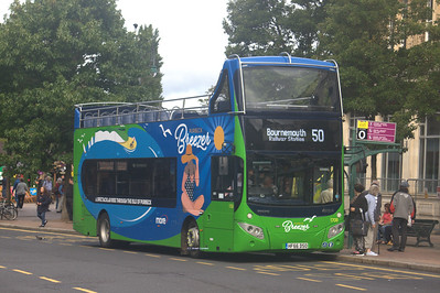1708, HF66DSO, Morebus, Bournemouth Square