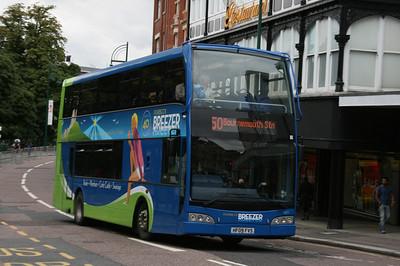 1411, HF09FVS, Wilts & Dorset, Gervis Place, Bournemouth