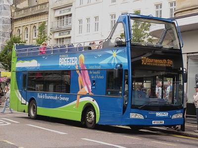 1409, HF59DMX, Purbeck Breezer (More), Bournemouth Square