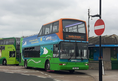 1991, WDL691, Southern Vectis, Yarmouth Bus Station, Isle of Wight