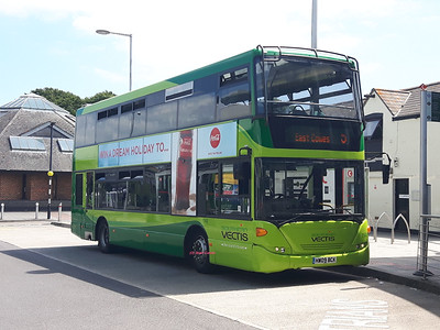 1148, HW09BCK, Southern Vectis, Newport Bus Station, Isle of Wight