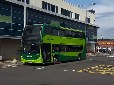 1622, HJ16HSU, Southern Vectis, Newport Bus Station, Isle of Wight