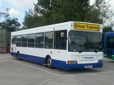 383, R189NFE, Thamesdown Transport Training Bus