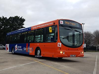 503, WX06JXR, Training Bus