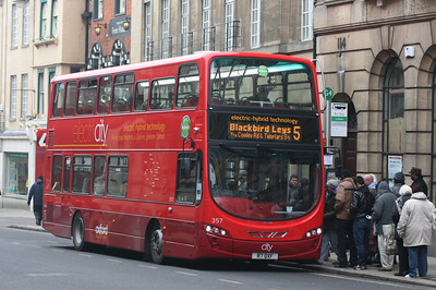 357, R7OXF, Oxford Bus Company, St Aldgates, Oxford