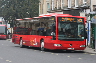 866, GF57OXF, Oxford Bus Company, St Aldgates, Oxford