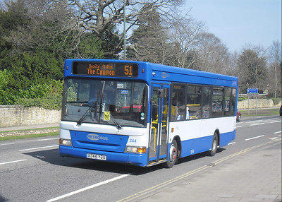 344 - X344YGU - Horsham (rail station) - 25.3.12