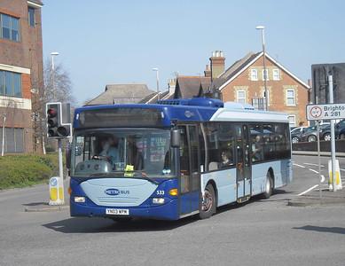 533 - YN03WPM - Horsham (town centre) - 25.3.12