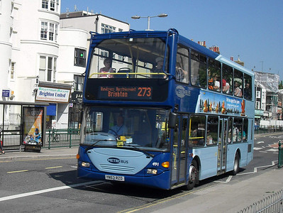 491 - YN53RZD - Brighton (Gloucester Place) - 4.6.10