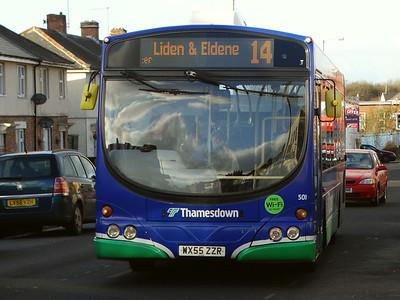 Thamesdown 501 170104 Swindon [©BW]