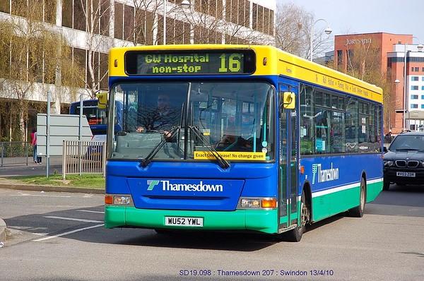 Thamesdown 207 100413 Swindon [jg]