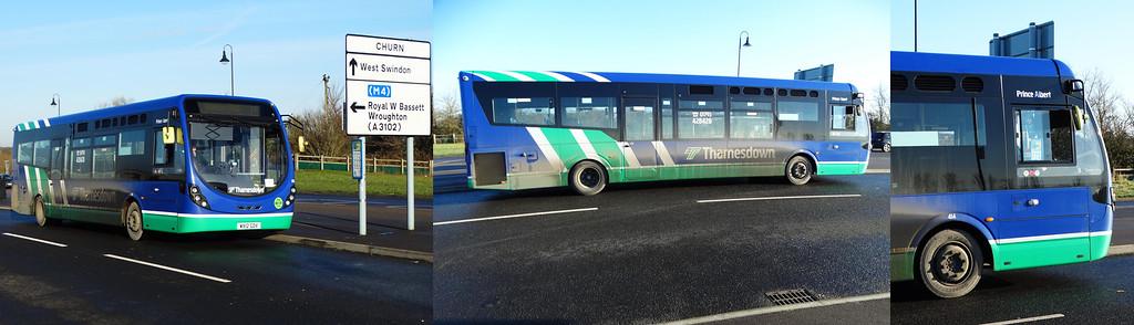 Thamesdown 414 150203 Swindon [©BW]