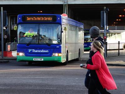 Thamesdown 202 150207 Swindon [©BW]