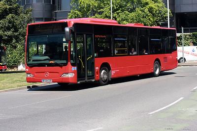 879-BT09 GOK at Uxbridge Town centre.