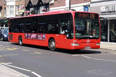 876-BD09 ZRC at Uxbridge Town Centre.