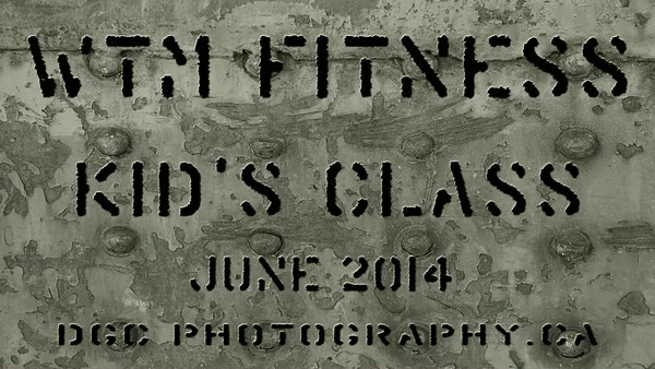 WTM Fitness Friday Kids Class June 2014