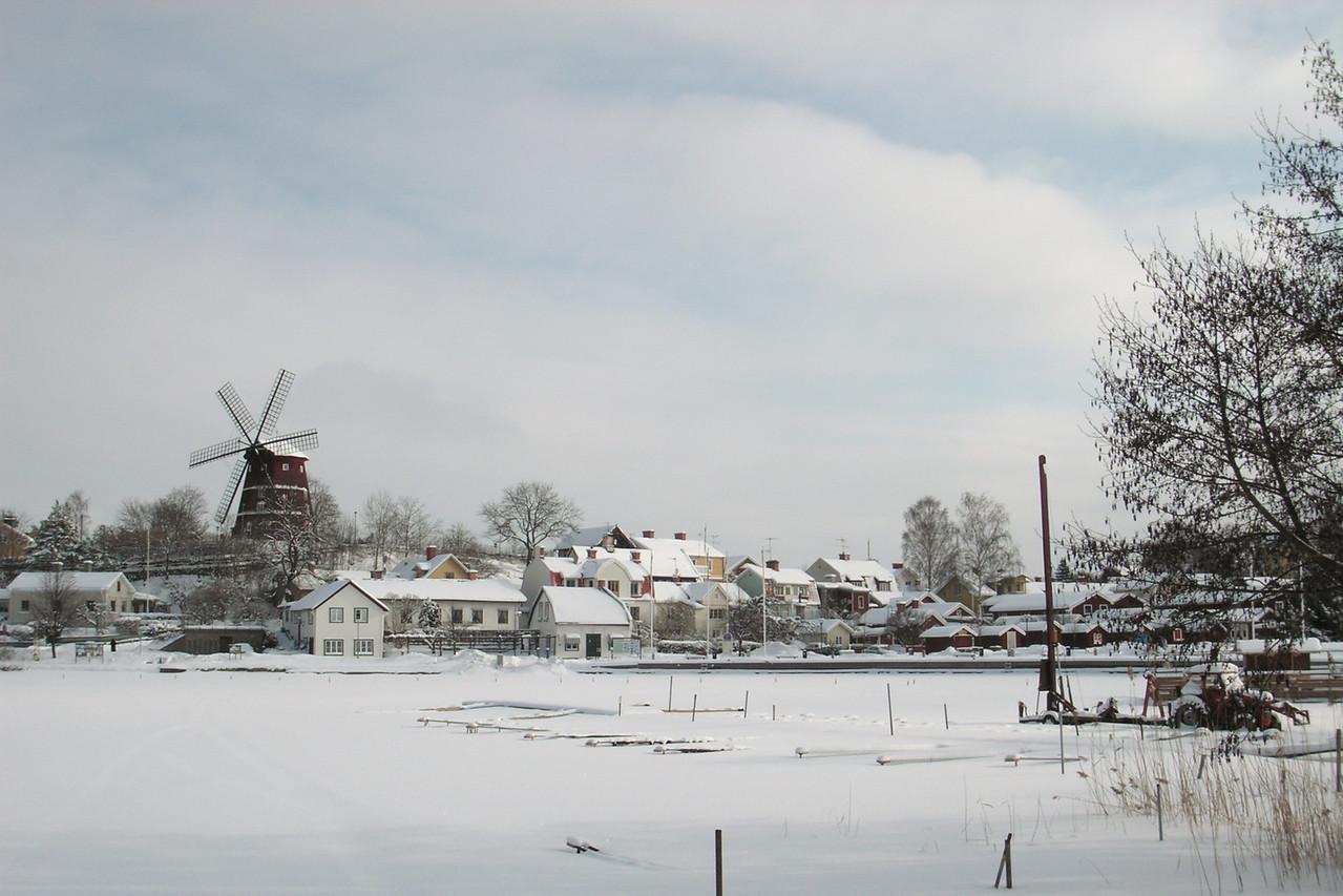 Västerviken, Kvarnbacken. 2006 March 5 @ 10:48