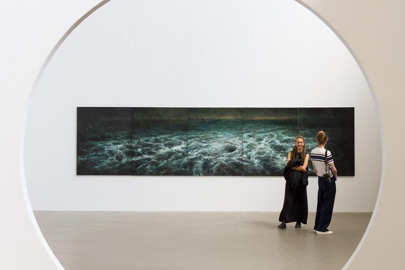 Li DongRen: uldolmok (2015-2016, oil on canvas)