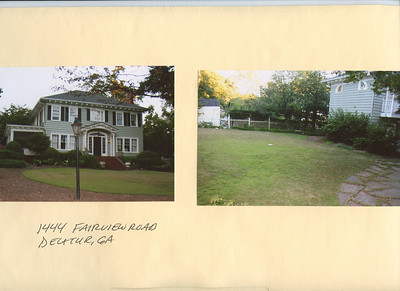 Reference Photos from Atlanta Houses