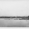 P00161 View of mainland from Taylor (probably Tokyo, 1945)