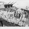 P00171 Crowded deck of USS Missouri from Taylor, 2 September, 1945