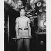P00097 Sailor in work uniform in Main Engine Room (?)