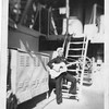 P00061 Sailor with guitar, starboard side main deck