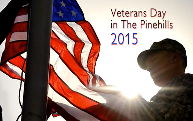 Veterans Day in the Pinehills 2015