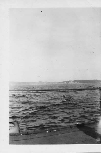 P00151 Landfall from Taylor (probably Japan, 1945)