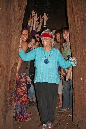 Goddess Festival 2012 Women and Trees