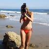 Bikini Swimsuit Model Shooting Stills & Video @ the Same Time with a Nikon D800 E & Camcorder