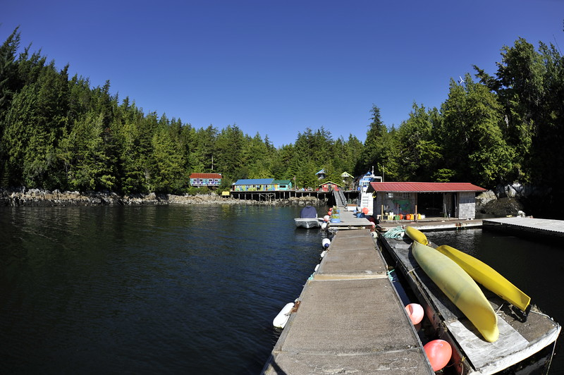 2017-08-02<br /> God's Pocket Resort<br /> Hurst Island, British Columbia
