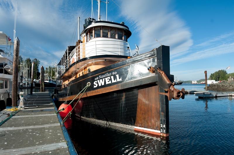 Nautilis Swell at Port Hardy
