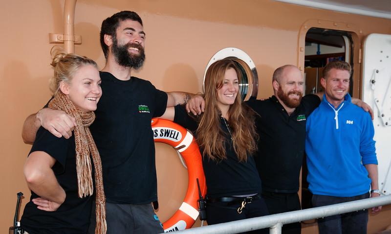Crew of the Nautilis Swell