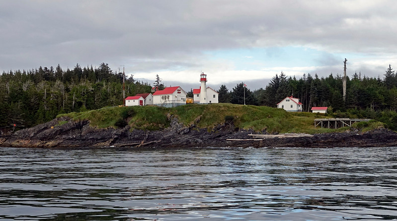 2016-08-14<br /> Lighthouse at Scarlett Point<br /> Balaklava Island, British Columbia