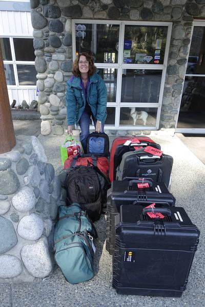 2019-03-24<br /> Leaving the Quarterdeck Inn, Port Hardy, British Columbia
