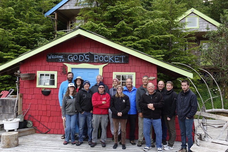 2017 Paul Highland's group with Rick and Cindy Rogers