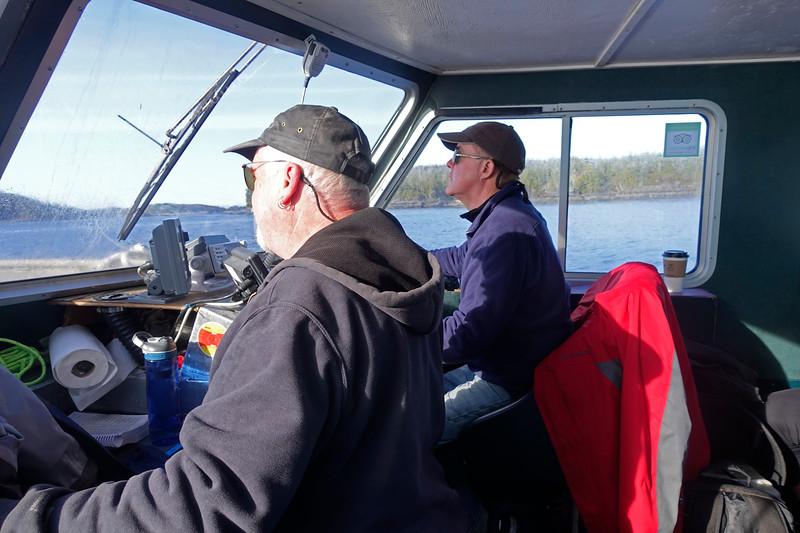 Captains Chris Miller and Dan Kannon
