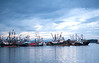 2014-09-21<br /> Fishing Vessels at Port Hardy<br /> Vancouver Island, British Columbia