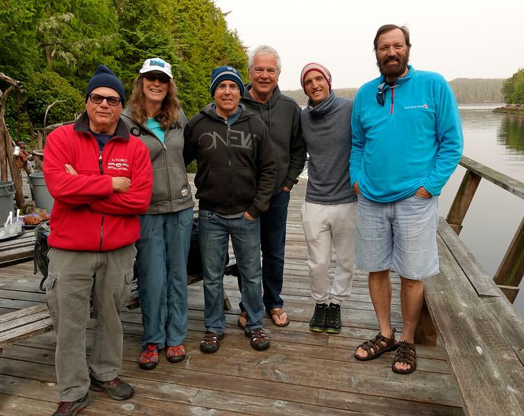 L to R:  Dave, Cindy, Rick, John, Roman, Phil