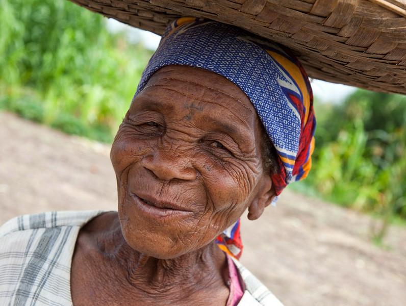 Grandma's Basket Smile