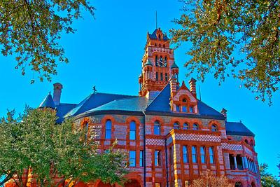 Ellis County Courthouse, Waxahachie Texas