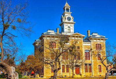 Shackleford County Courthouse, Albany Texas