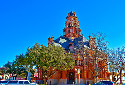 Ellis County Courthouse, Waxahachie Texas