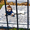 Mary Martin aka Peter Pan and husband's grave