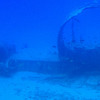 Sunken aircraft (submarine tour).