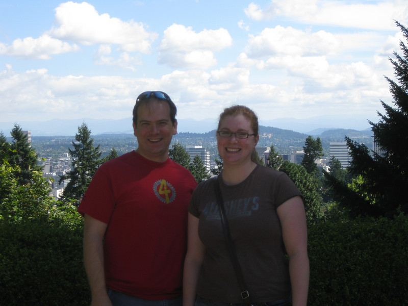 Jon and Meaghan at the Japanese Gardens